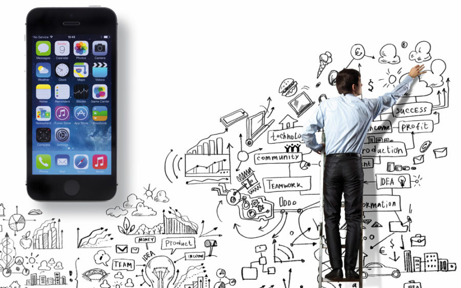 Apps für Entrepreneure (Bild: Copyright urbanbuzz/Shutterstock.com, Sergey Nivens/Shutterstock.com, Klaus Reichert)