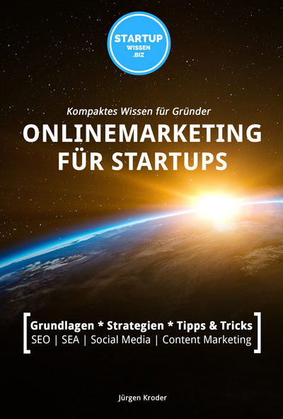 """Buch & eBook: """"Onlinemarketing für StartUps"""""""